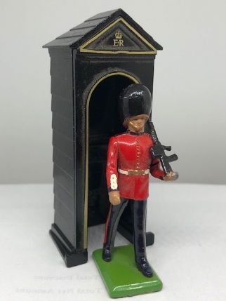 Sentry Box with Guard